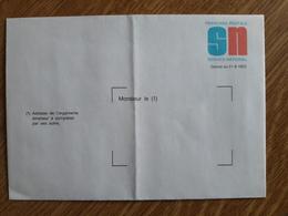 Enveloppe (neuve) Du Service National - Entiers Postaux