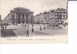 MONTPELLIER   LA PLACE DE LA PREFECTURE   ( EDIT L.L ) - Montpellier