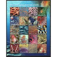 Cocos Keeling Islands Unmounted Mint Sheetlet.  This Sheetlet Was Issued In 2011. - Islas Cocos (Keeling)