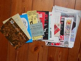 53stuks Honky Tonk Dendermonde    Periode 1966 1980 Jazz Paul Ambach Jean Toots Thielemans Enz. - Books, Magazines, Comics