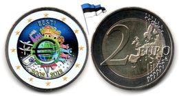 Estonie - 2 €uro 2012 (10 Years Of Euro - Colorée) - Estonia