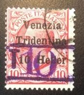 Italia Trentino Alto Adige BOLZANO SEGNATASSE PROVVISORI:WW1 1914-18 War Local Post Italy Österreich Lokalpost Süd-Tirol - Trente