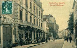 CHALLON SUR SAONE  Rue De L'Obélisque - Chalon Sur Saone