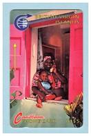 "BR. VIRGIN ISLANDS: 1991 3A ""Woman & Child"" CN:3CBVA. Rare (25.500ex). Used - Virgin Islands"