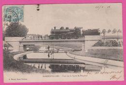 88 - RAMBERVILLIERs , Pont Sur La Ligne De Bruyères , Locomotive - Rambervillers
