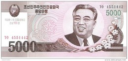 North Korea - Pick New - 5000 Won 2002 - 2009 - Unc - Commemorative - Corea Del Norte