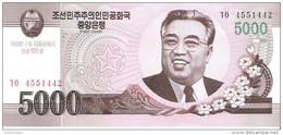 North Korea - Pick New - 5000 Won 2002 - 2009 - Unc - Commemorative - Corée Du Nord