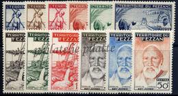 -Fezzan 56/67** - Unused Stamps