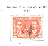 Bolivia PA 1960 Pres.Astensorro E Vargas  Scott.C227+See Scans On Scott.Page - Bolivia