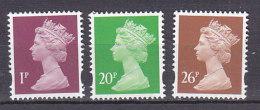 PGL BA1062 - GRANDE BRETAGNE Yv N°1890/92 ** MACHINS - 1952-.... (Elizabeth II)