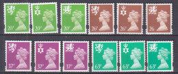 PGL BA1088 - GRANDE BRETAGNE Yv N°1893/904 ** REGIONAUX - 1952-.... (Elizabeth II)
