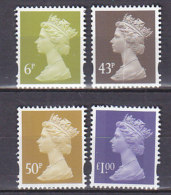 PGL BA1165 - GRANDE BRETAGNE Yv N°1949/52 (-1948) ** MACHINS - 1952-.... (Elizabeth II)