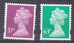 PGL BA1171 - GRANDE BRETAGNE Yv N°1883/84 ** MACHINS - 1952-.... (Elizabeth II)