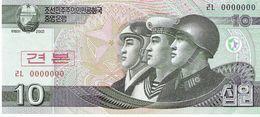 North Korea - Pick 59s - 10 Won 2002 - 2009 - Unc - Specimen - Corea Del Nord