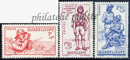 -Guadeloupe 158/60** - Nuovi