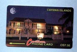 """CAYMAN IS: 1993 CAY-6Ca """"Museum At Night"""" CN:6CCIC Rare Used - Cayman Islands"""