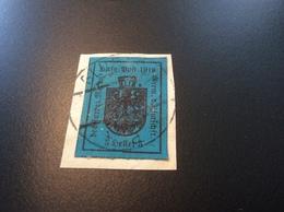 Italia Trentino Alto Adige MERANO 1918  (HILFSPOST MERAN WW1 1914-18 War Local Post Italy Österreich Lokalpost Süd-Tirol - Occupation 1ère Guerre Mondiale