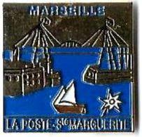 LP97 - LA POSTE - MARSEILLE - STE MARGUERITE - Verso : SM - Postes