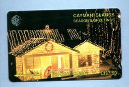 """CAYMAN ISL: 1993 CAY-7A """"Christmas House 1993"""" CN:7CCIA Rare (15.000ex) - Cayman Islands"""