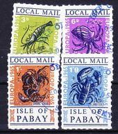 ISLE OF PABAY (Emission Locale) - 1965 EUROPA SERIE (+ BLOC ET BLOC LUXE) Obl. Custacean, Seals / Crustacés, Phoques - Local Issues
