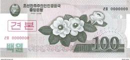 North Korea - Pick 61s - 100 Won 2002 - 2009 - Unc - Specimen - Corea Del Nord