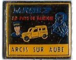 LP98 - LA POSTE - DANTON - ARCIS SUR AUBE - Verso : SERIE LIMITEE 250 - Mail Services