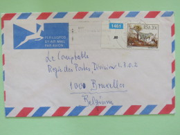 South Africa 1981 Cover To Belgium - Dinosaur - Covers & Documents