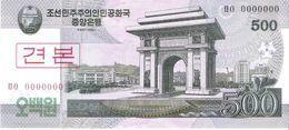 North Korea - Pick 63s - 500 Won 2002 - 2009 - Unc - Specimen - Corea Del Nord