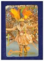 "CAYMAN ISL: 1993 CAY-8A ""Carnival Costume"" CN:8CCIA Rare (30.000ex) - Cayman Islands"