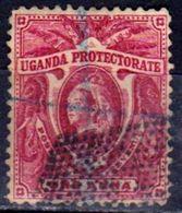 OUGANDA - UGANDA - Protectorat Britannique - 1898 Y&T N° 37 - Oblitéré - Kenya, Uganda & Tanganyika