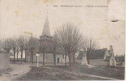 D45 - COMBLEUX - L'EGLISE ET LE CALVAIRE - France