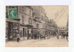 Clermont. Oise. Rue De La République. Devantures De Magasins. (2656) - Clermont