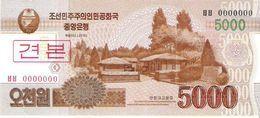 North Korea - Pick 67s - 5000 Won 2002 - 2009 - Unc - Specimen - Corea Del Nord