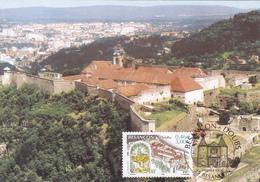 Carte-Maximum FRANCE N° Yvert 3387 (BESANCON - La Citadelle De VAUBAN) Obl Sp Ill 1er Jour - Maximum Cards