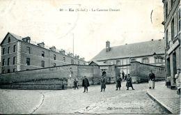 N°61123 -cpa Eu -caserne Drouet- - Barracks