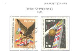 Bolivia PA 1963 Mondiali Calcio  Scott.C247+248+See Scans On Scott.Page - Bolivia