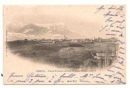 Embrun - Vue De Saint Saturnin  Et  Pic De Morgon -  CPA° - Embrun