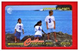 "CAYMAN ISL: 1996 CAY-131F New Code 345 ""Children On Rocks"" CN:131CCIF Rare (15.000ex) - Cayman Islands"
