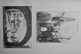 GRAVURES 1047-1048 / LE PUY -  REMPARTS DE FONTENAY Par OCTAVE GUILLAUME COMTE DE ROCHEBRUNE Né à FONTENAY LE COMTE - Prints & Engravings