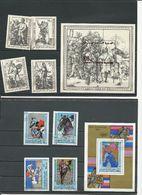 MAURITANIE Scott 407-410, 411, 446-449, 450 Yvert 409-412, BF23, 446-449, BF27 (9+2blocs) O Cote 7,50 $ 1979-80 - Mauritanie (1960-...)