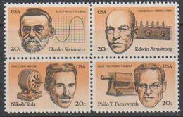 USA 1983 American Inventors 4v ** Mnh (38252K) - Nuovi