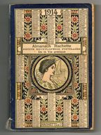 Almanach Hachette 1914 - Calendars