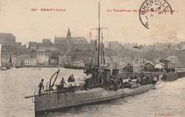+ CPA 50 Granville - Le Torpilleur De Haute Mer Mistral + - Granville