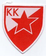 Vintage Patch Emblem Red Star Blegrade Serbia Yugoslavia Crvena Zvezda Beograd - Sports
