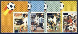 +B1404. Bhutan 1985. Football, Surprints. Michel 919-22. MNH(**) - Bhoutan