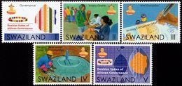 Swaziland - 2017 - Government Programme Of Action - Ibrahim Index - Mint Stamp Set - Swaziland (1968-...)