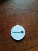 Jeton De Caddie GAMM VERT   Dos Rien - Trolley Token/Shopping Trolley Chip