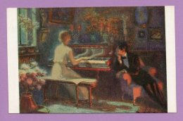 L. Alleaume. Du Chopin - The Music Of Chopin - SALON DE PARIS - Pittura & Quadri