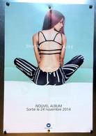PLAN MEDIA BON DE PRECO AFFICHE PLIEE FORMAT 60X40 SH'M SOLITAIRE TRES BON ETAT RARE - Plakate & Poster