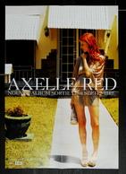 PLAN MEDIA BON DE PRECO AFFICHE PLIEE FORMAT 60X40 AXELLE RED TRES BON ETAT RARE - Manifesti & Poster